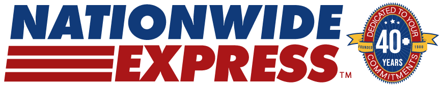 nationwide express 40 year logo - Nationwide Express