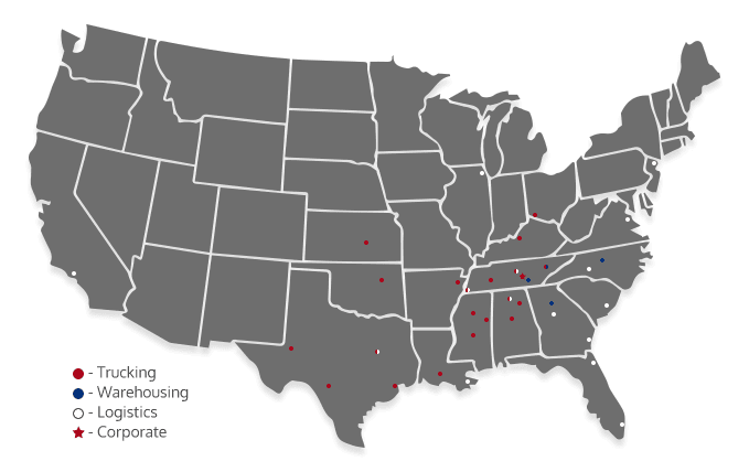 nwe locations map - Nationwide Express