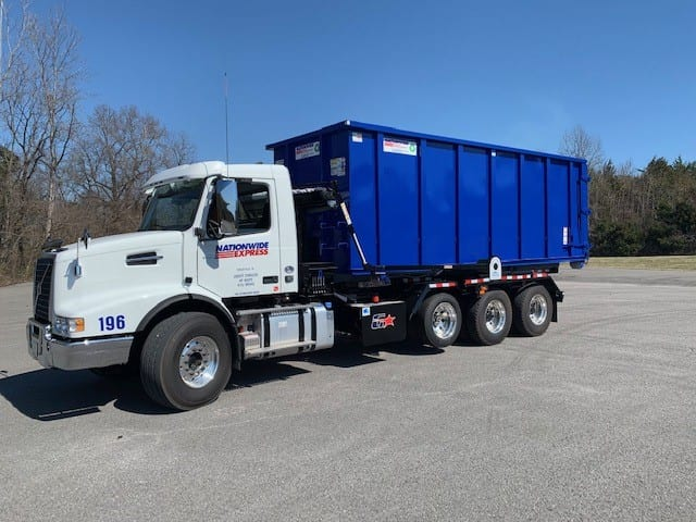 recycling image to replace one flatbed equipment truck - Nationwide Express